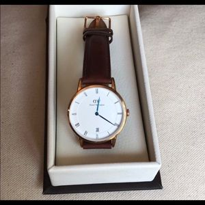 Daniel Wellington Rose Gold Dapper St. Mawes 34mm